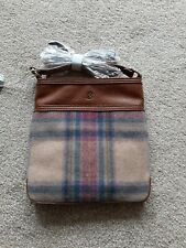 Joules Uxhall Multi Pink Check Bag BNWT