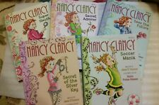 Lot of 5 Nancy Clancy Super Sleuth Childrens Early Chapter Books Mysteries