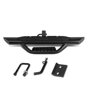 """Fit 2"""" Receiver Truck Bed Heavy Duty Aluminum 3.75""""OD Oval Towing Hitch Step Bar"""
