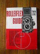 VTG ROLLEIFLEX TWIN LENS GUIDE~MANUAL~37TH EDITION 1969~THE LOCAL PRESS BRITAIN