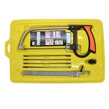 8 in 1 Mental Magic Hacksaw Hand Saw Wood Working Tools Set Kit 6 Blasdes Model