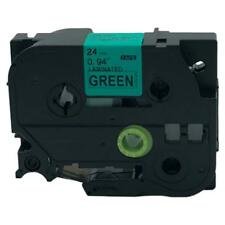 Compatible Brother P-Touch TZ  Label Tape Cartridge TZe-751 Black on Green 24mm