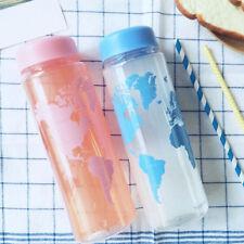 Clear My Sport Bottle Sport Fruit Juice Water Cup Portable 500ML Travel Drink