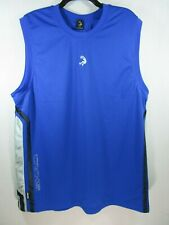 *Men's And1 Shaq Streetball Basketball Jersey Sz Large Blue Sleeveless Top
