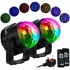 Party Disco Lights DJ Ball Strobe Led Rotating With 7 Colorful Effects 3 Music