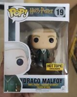 Funko pop harry potter draco malfoy hot topic figura vinilo figure tv cine