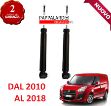 2 AMMORTIZZATORI POSTERIORI FIAT DOBLO 1.3 1.6 2.0 MULTIJET 1.4 NATURAL POWER