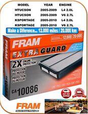 FRAM CA10086 New Engine Air Filter-Extra Guard