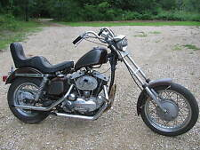1970 Harley Davidson ironhead Sportster Chopper For Parts matching numbers