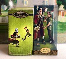 Disney Store Designer Limited Edition Peter Pan & Captain Hook Doll Set