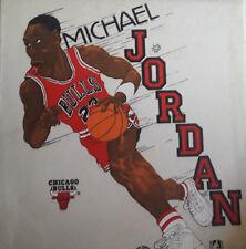 1 of a kind MICHAEL JORDAN & TWN TOWERS OLAJUWON/SAMPSON wall display poster NBA