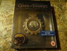 Game of Thrones: Season 3 Blu-ray Steelbook Region Free
