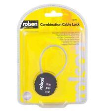 Cable De Combinación Candado maleta de Viaje Bloqueo De Seguridad Hogar Rolson 66491