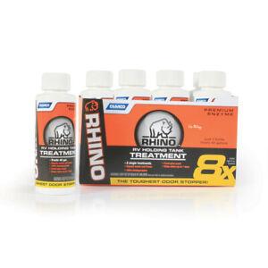 RhinoFLEX Toilet Chemical - Singles, 8-4 oz. Bottles