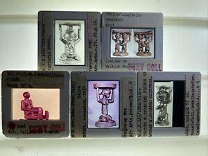 Headrest: Luba Shankadi African Tribal Art 5 35mm Slides