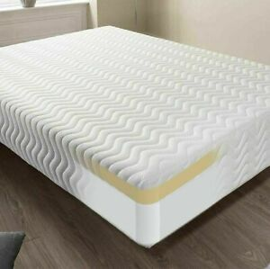 Memory Foam Mattress Sprung - FREE NEXT DAY DELIVERY - All Over The Uk 4ft 6 3ft