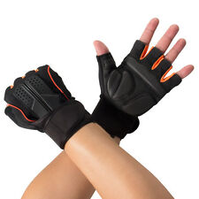 Men's Anti-skid Guantes Half Gloves Gym Fitness Protective Exercise Training US