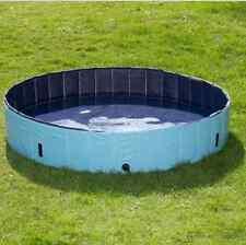 Perro piscina jardín al aire libre plegable verano baño antideslizante portátil para mascotas cachorro