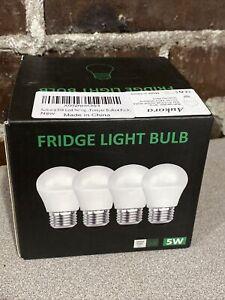 Aukora 5W Led Refrigerator Light Bulb Appliance Waterproof E26 4 - Pack