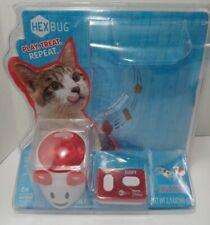 One New Hexbug Mouse Robotic Cat Toy - Treat Dispenser Remote Control Friskies