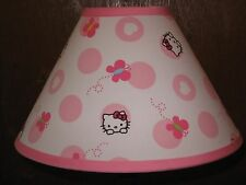 Hello Kitty Butterfly Fabric Children's Lamp Shade