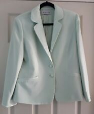 Jaques vert pale green jacket size 16 used once