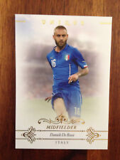 2015 Futera Unique Football Soccer Card Italy Roma DANIELE DE ROSSI Mint