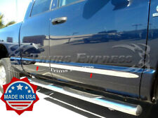 "fits 2005-2011 Dodge Dakota Extended/Club Cab Flat Body Side Molding Trim 2"" 4Pc"