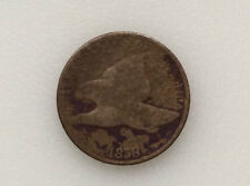 1858 Flying Eagle One Cent U.S. Coin A0528