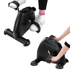 Portable Mini Exercise Bike Exerciser Resistance Cycle Desk Home Seat Gym Pedal