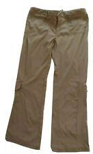 New listing Athleta Women's Pants Hiking Outdoor brown size 12 Drawstring waist cargo nyl/sp