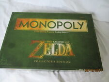 The Legend of Zelda Monopoly Board Game Collector's Edition Twilight Nintendo
