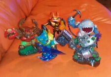Skylanders  giants SNAP SHOT CRUSHER THUMPBACK SWARM TREEREX FREEPOST