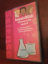 Brand new InquisiKids: Discover & Do Level K DVD Science in Air Kitchen Plants