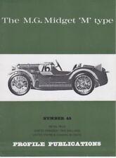 Mg MIDGET M tipo perfil publicación número 45 F Wilson Mc Comb 1966