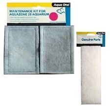 Aqua One Aqua Zone AquaZone 28 Filter Carbon Media & FREE  Wool Pad