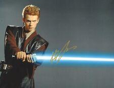 Hayden Christensen Signed STAR WARS 10x8 Photo AFTAL OnlineCOA (A)