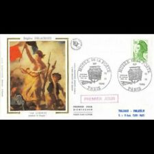 Timbres enveloppes verts