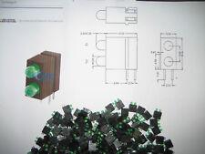 LED-Fassung 3 mm LED Wu-B-D-3102-3200-GG  abgewinkelt 2 fach  VS Optoelectronics