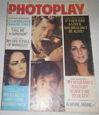 Photoplay Magazine Cher & Elizabeth Taylor March 1974 NO ML 072914R
