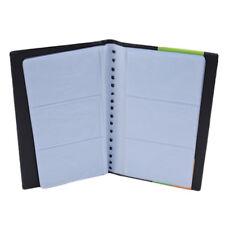 120 Sheets Business Name Card Holder Id Credit Holder Book Case Cf