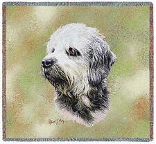 Lap Square Blanket - Dandie Dinmont Terrier by Robert May 6367