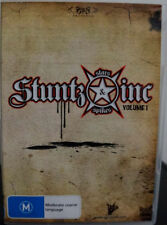 STUNTZ INC STARS SPIKES VOLUME 1 DVD Brand New FREE POSTAGE
