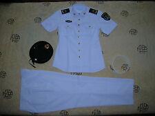 Obsolete 07's China PLA Navy Woman NCO Summer Short-sleeved Uniform,Set,(C)