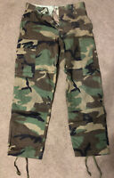 Military BDU Pants Small Short 31x29 Cargo Camouflage #536