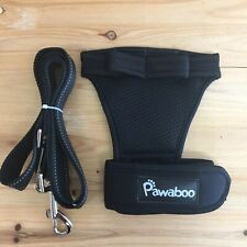 Pawaboo Glove Leash Hands Free Black