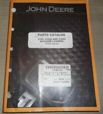 John Deere 310G 310Sg 315Sg Backhoe Loader Parts Manual Book Catalog Pc2755