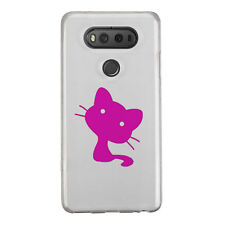 2x Cat Kitty Pussy Sticker Die Cut Decal for mobile cell phone Smartphone Decor