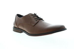 Unlisted by Kenneth Cole Design 301212 Mens Brown Plain Toe Oxfords Shoes