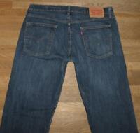 """STARK: elastische LEVI`S 514 Herren- Jeans LEVIS Blue-Jeans in blau W36""""/ L34"""""""